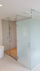 Toilet-Rm_Corner-Shower-w_Clear-Sandblast1