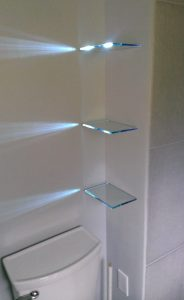 Backlit Shelves b