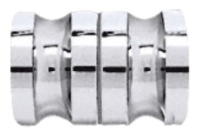Euro Knob - Chrome
